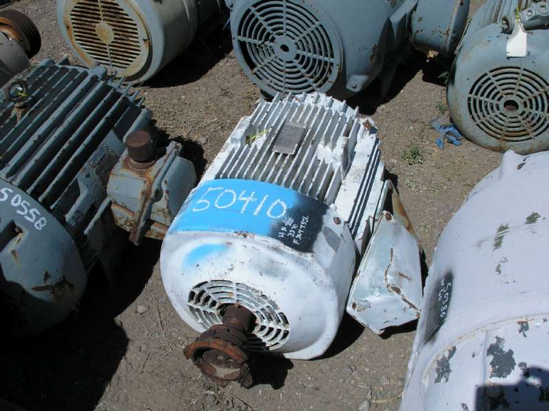 Used 60 Hp Horizontal Electric Motor General Electric