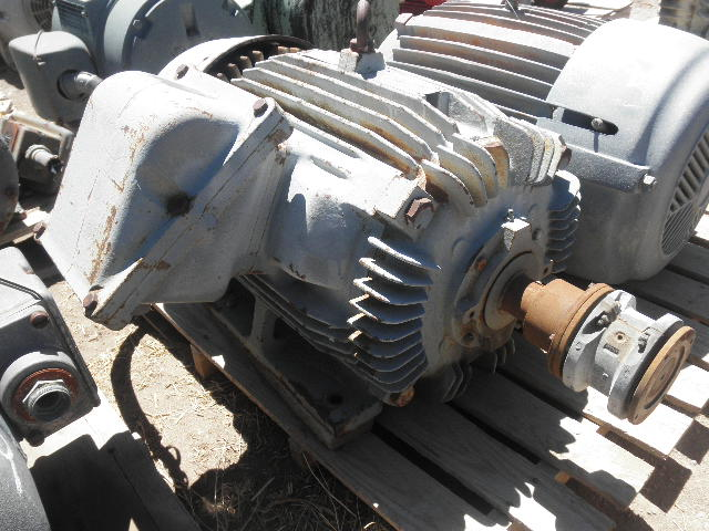 Used 50 hp horizontal electric motor toshiba for sale for Surplus electric motors for sale