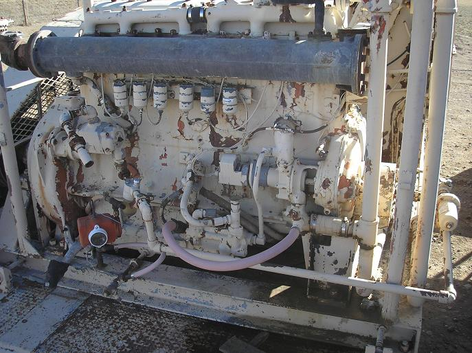 used waukesha 6wak natural gas engine for sale