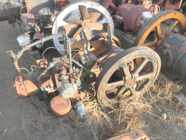 Used Ajax 6 1/2x8 EA-22 Natural Gas Engine For Sale - Stock