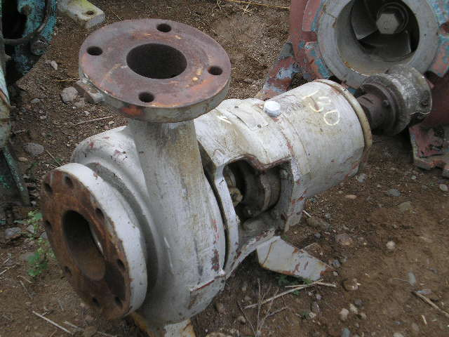 Used Worthington D-1011 Horizontal Single-Stage Centrifugal Pump