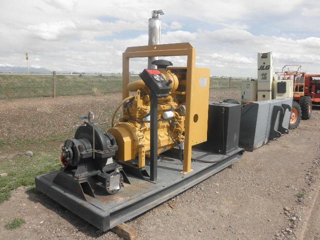 Rebuilt Peerless 4AD18.5 Horizontal Single-Stage Centrifugal Pump Package