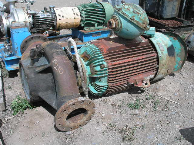 Used 250 hp vertical electric motor reliance for sale for Surplus electric motors sale