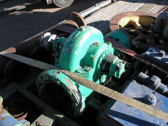 Used Paco 8AW-KPG Horizontal Single-Stage Centrifugal Pump
