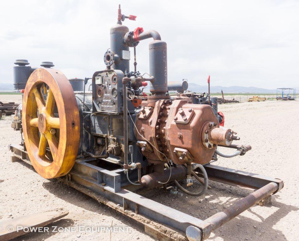 Used Ajax Dpc 115 Reciprocating Compressor For Sale