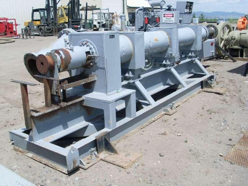 Used Reda 88HD-HSS Horizontal Multi-Stage Centrifugal Pump Complete