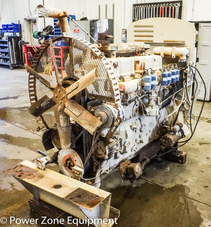 used waukesha f-817 gu natural gas engine for sale