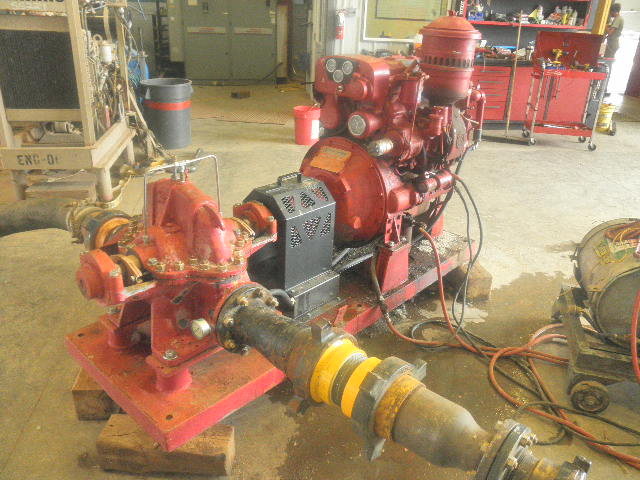 Used Patterson 6X5 M Horizontal Single-Stage Centrifugal Pump Package