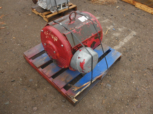 Used 100 HP Horizontal Electric Motor (Lincoln) For Sale - Stock No