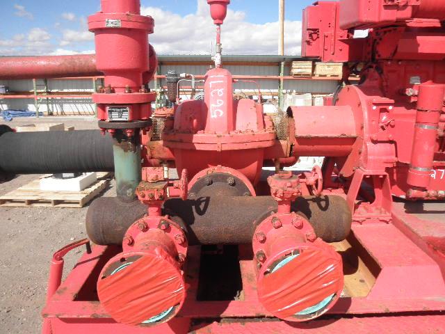 Used Fairbanks Morse 8-2824AF Horizontal Single-Stage Centrifugal Pump Package