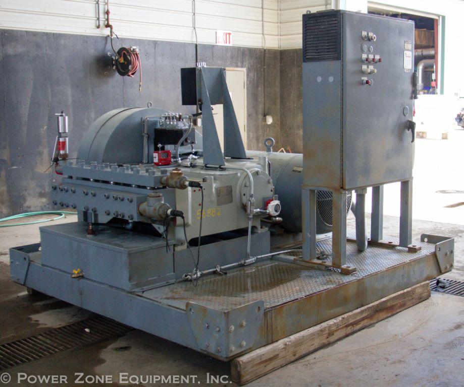 Used NLB 10250 Quintuplex Pump Package