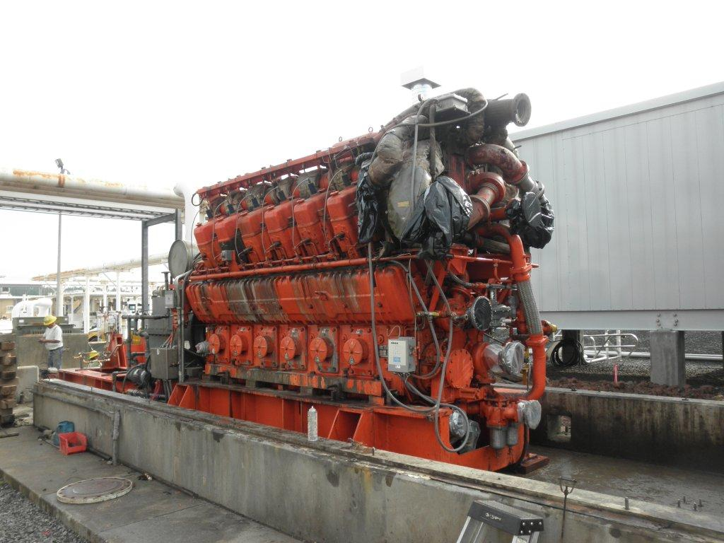 Used Waukesha 12v At27gl Natural Gas Engine For Sale
