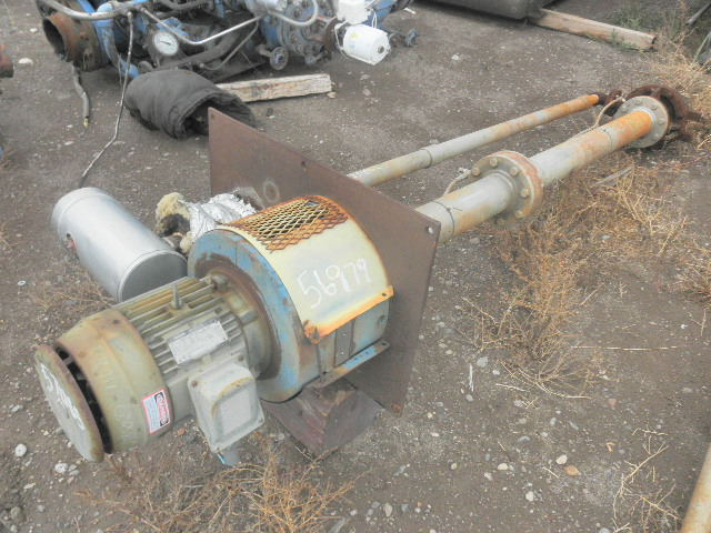 Used 3 hp vertical electric motor toshiba for sale for Surplus electric motors sale