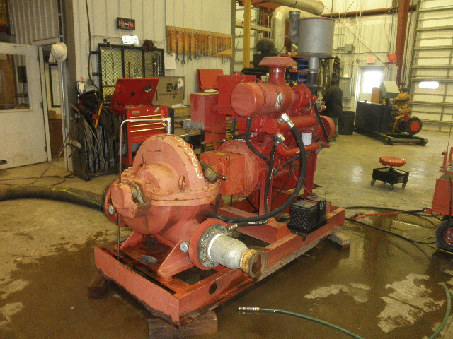 Used Fairbanks Morse 2824C Horizontal Single-Stage Centrifugal Pump Package