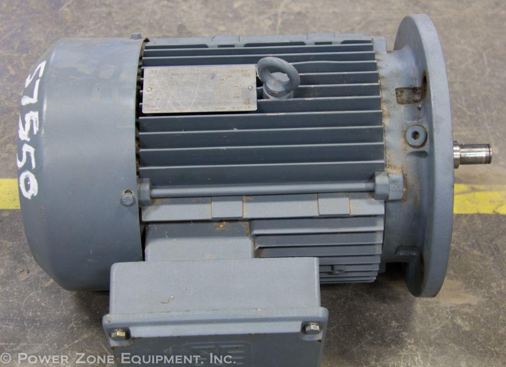 Used hp horizontal electric motor eurodrive for for Surplus electric motors sale