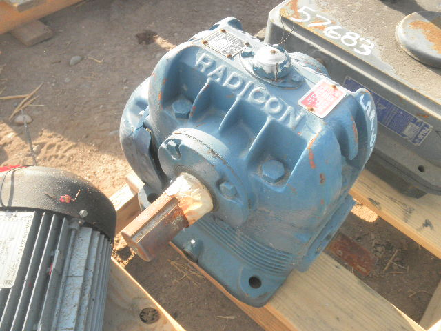 Used Radicon Au400 8 Worm Drive Gearbox For Sale Stock