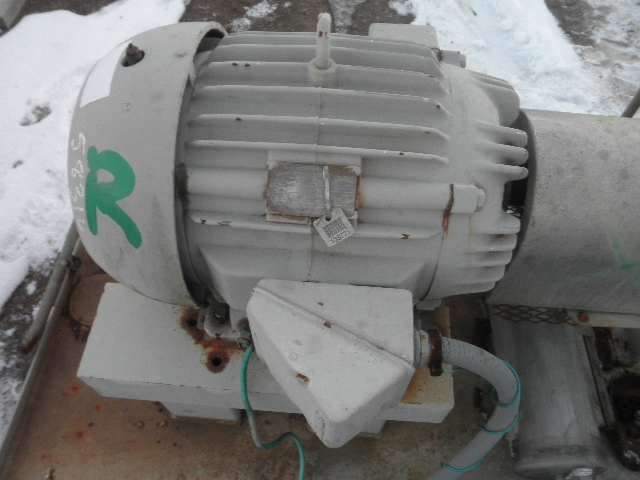 Used 50 hp horizontal electric motor siemens for sale for Surplus electric motors sale
