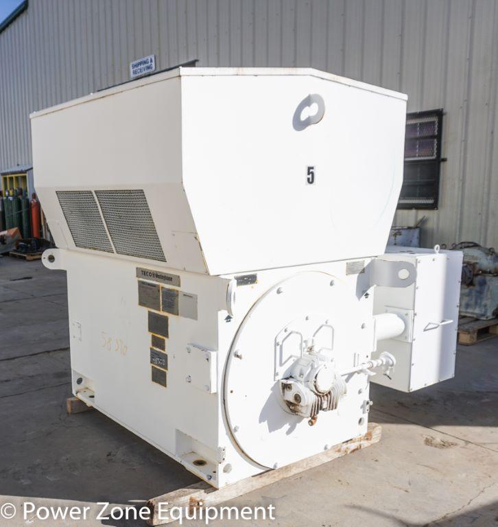 Used 1250 Hp Horizontal Electric Motor Teco Westinghouse