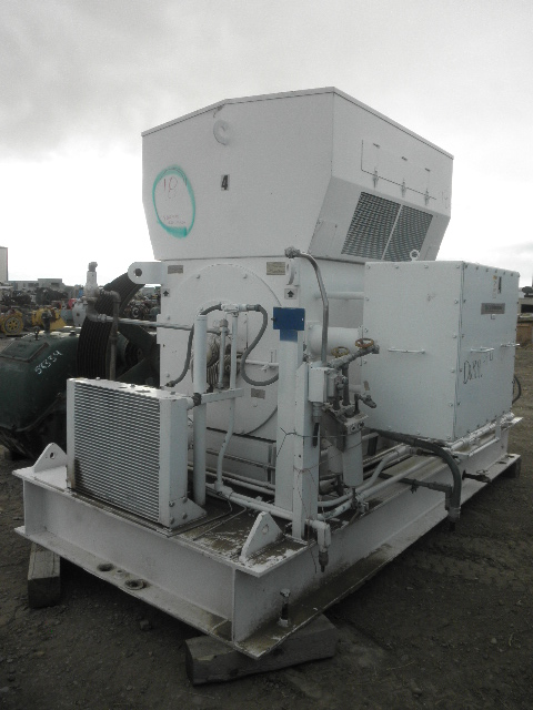 Used 1250 Hp Horizontal Electric Motor Teco Westinghouse