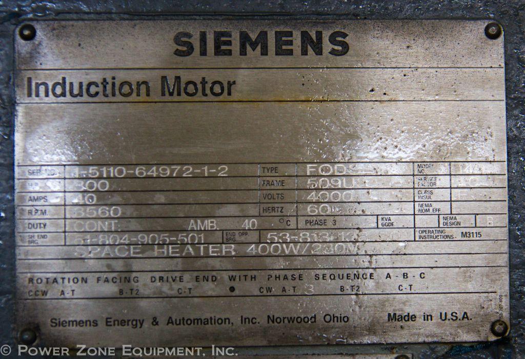 Nameplate motor siemens for Siemens motor data sheet