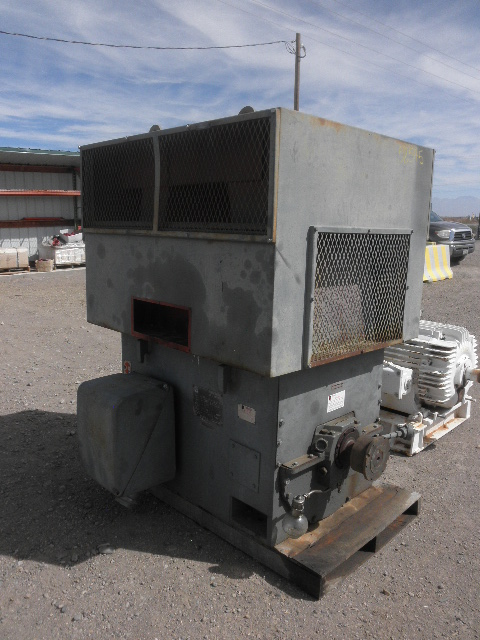 Used 600 hp horizontal electric motor iem for sale for Surplus electric motors for sale