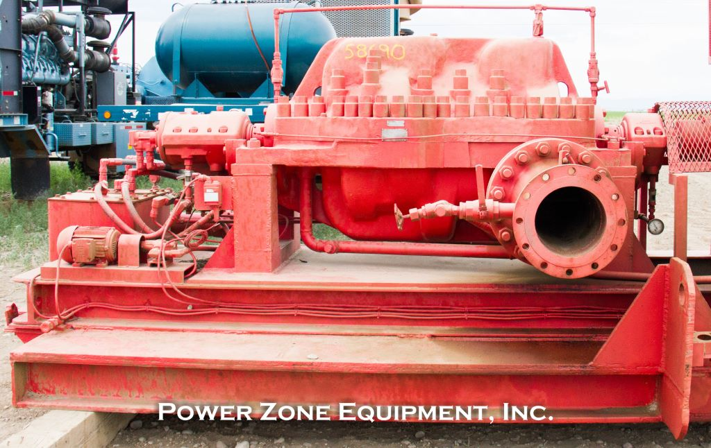 Rebuilt Union 8x10 MRF 5/3 Stage Horizontal Multi-Stage Centrifugal Pump Package