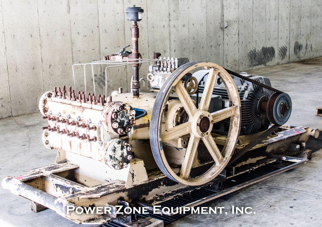 Used Wheatley Gaso HP 125-3F Quintuplex Pump Package
