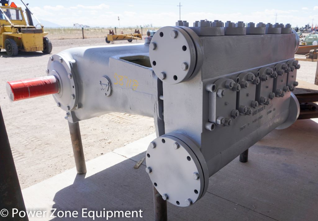 Used National 543Q-7XL Quintuplex Pump Package