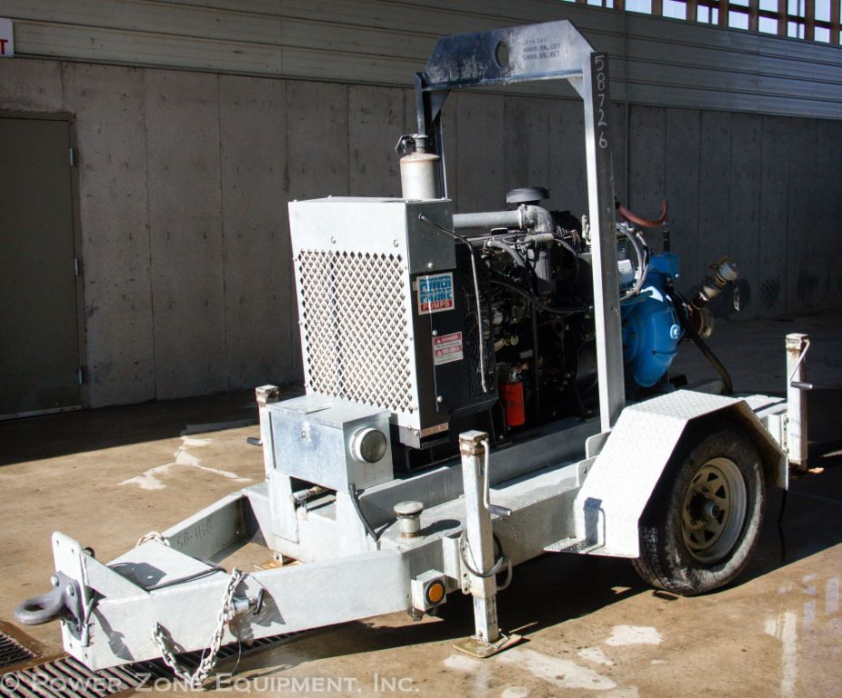 Used Power Prime DV-150i CSPE Horizontal Single-Stage Centrifugal Pump Package