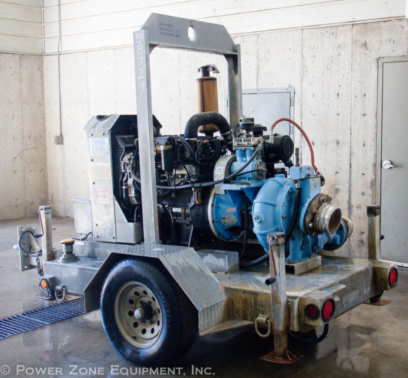 Used Power Prime DV-150i Horizontal Single-Stage Centrifugal Pump Package