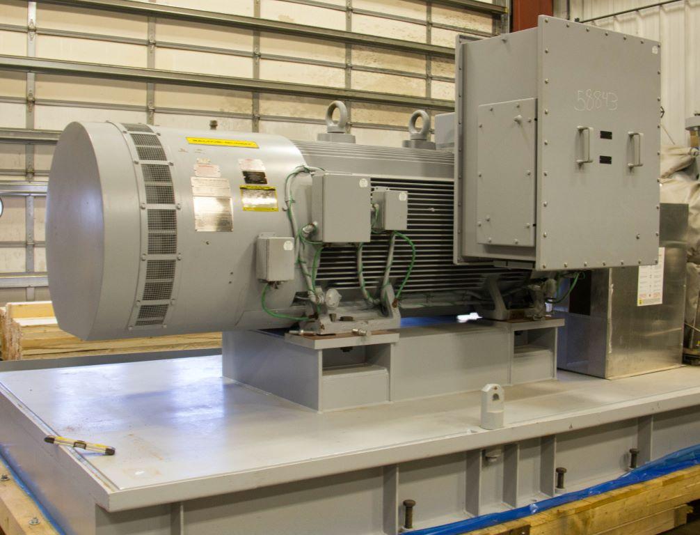New 1000 hp horizontal electric motor baldor for sale for Baldor electric motors for sale