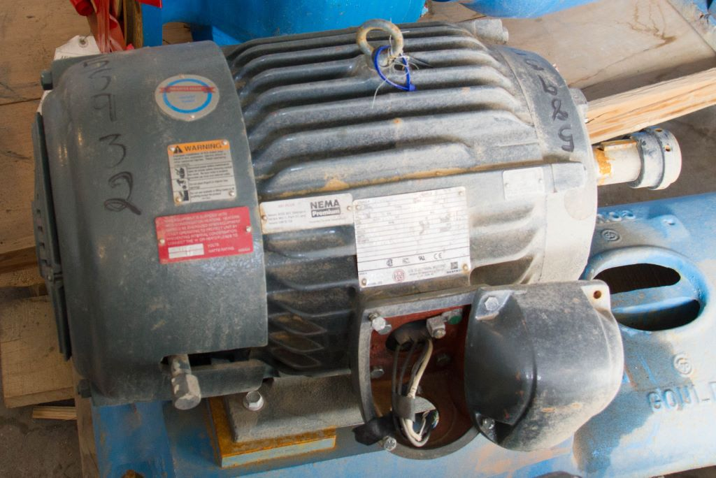 New 20 HP Horizontal Electric Motor (US Electrical Motors/ANIS ...