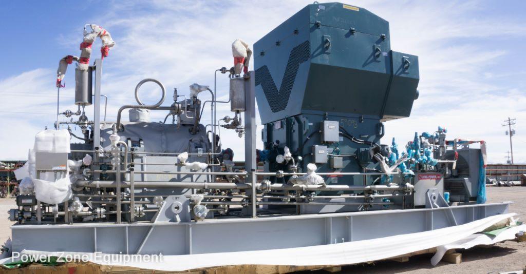 Unused Surplus Flowserve 4WIK15-8 Horizontal Multi-Stage Centrifugal Pump Package
