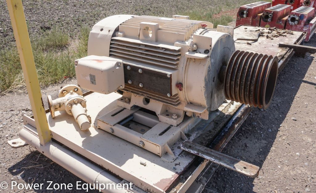Used 125 HP Horizontal Electric Motor (General Electric ...