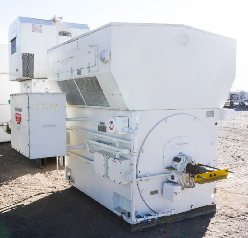 Used 3500 Hp Horizontal Electric Motor Teco Westinghouse
