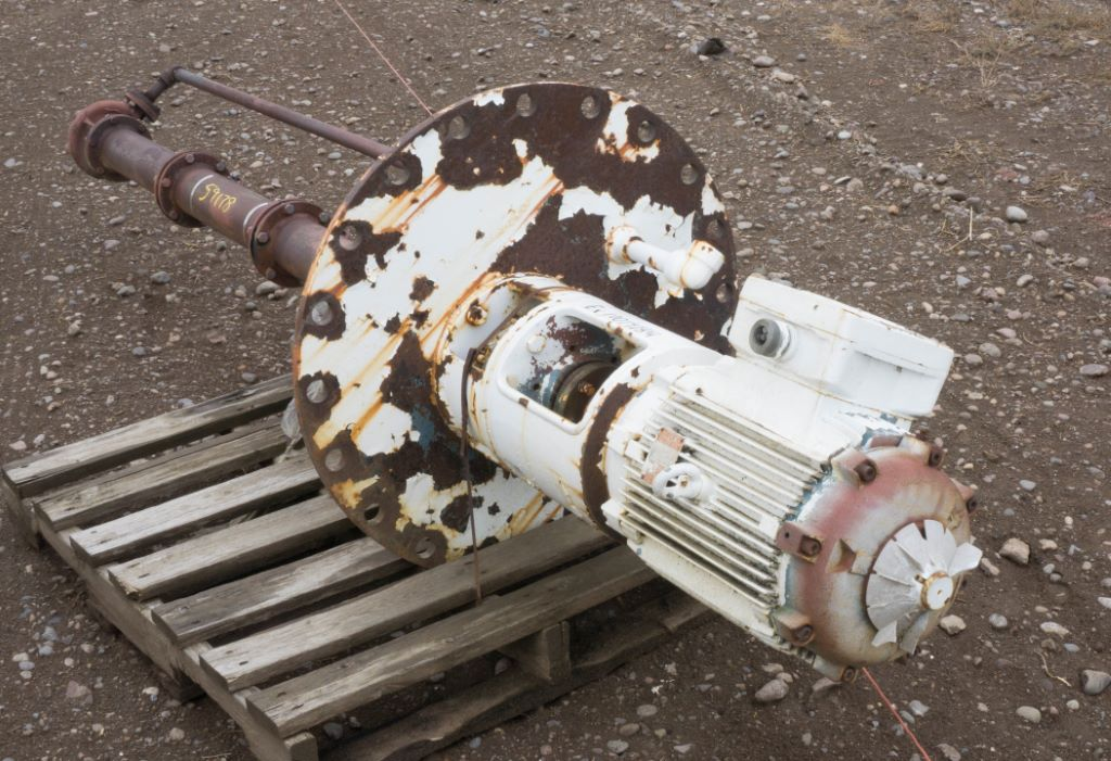 Used 20 hp vertical electric motor weg for sale stock for Used electric motors for sale