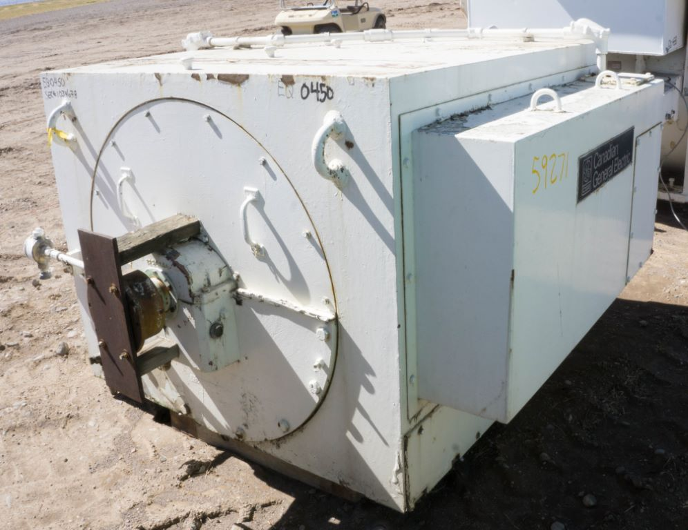 Used 1000 hp horizontal electric motor general electric for Electric motors for sale