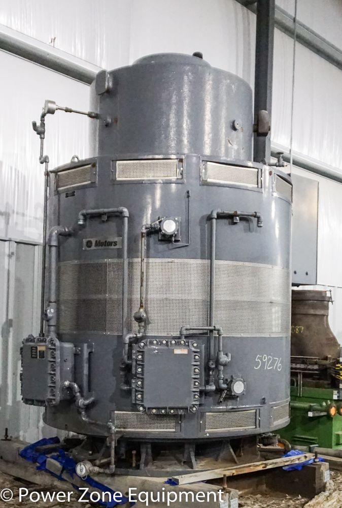 Used 1750 hp vertical electric motor general electric for Surplus electric motors sale