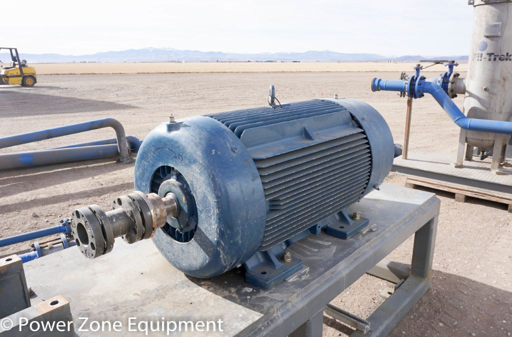 Used 300 Hp Horizontal Electric Motor Siemens For Stock No 59485