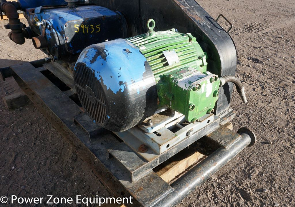 Used 30 HP Horizontal Electric Motor (Hawker Siddeley) Package For Sale - Stock No 59499