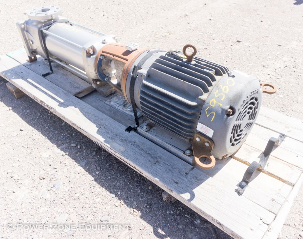New 30 HP Horizontal Electric Motor Baldor Package For Sale