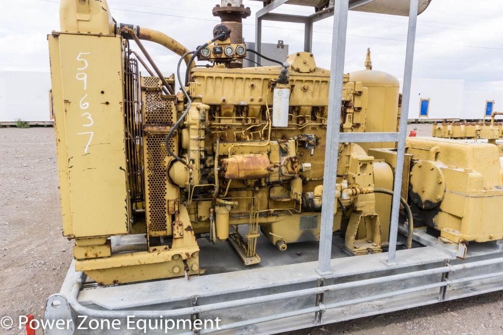 Used Caterpillar 3406 Diesel Engine Package For Sale Stock