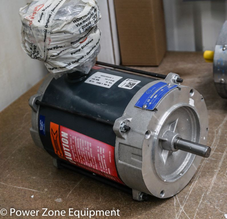 New 0 33 HP Horizontal Electric Motor (Marathon) For Sale - Stock No