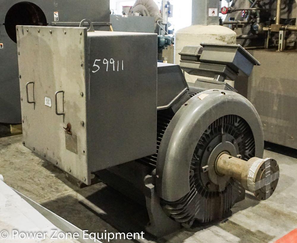 Unused Surplus 800 Hp Horizontal Electric Motor Teco
